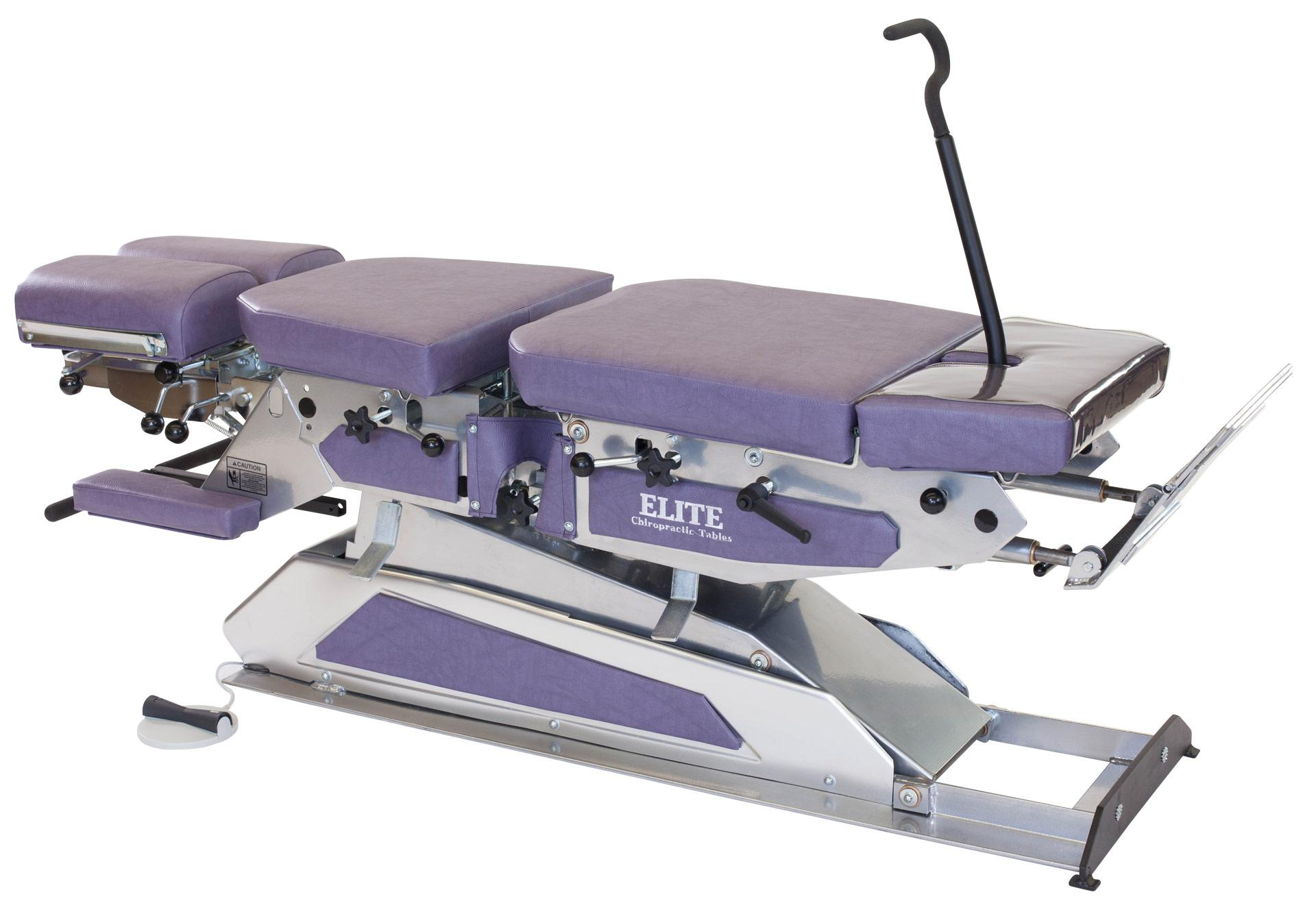 High Low Manual Flexion Table Elite Chiropractic Tables